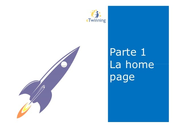 Parte 1 La home Parte 1 La homeLa home page La home page