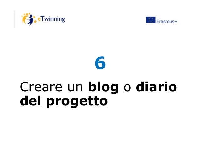66 Creare un blog o diario del progetto
