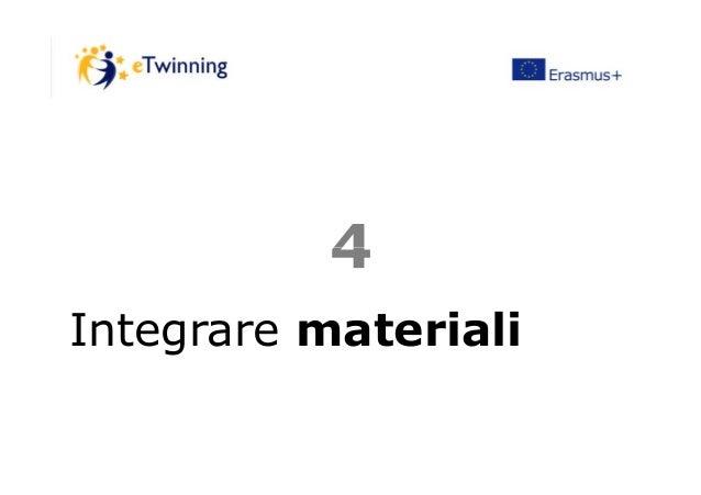 44 Integrare materiali