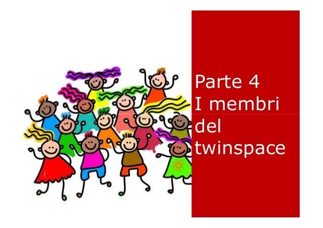 Parte 4 I membri del Parte 4 I membri del I membri del twinspace I membri del twinspace