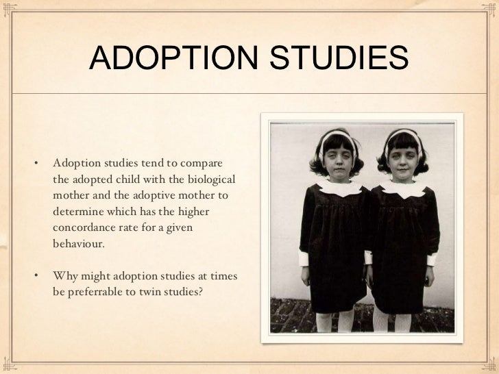 Homosexual adoption studies psychology