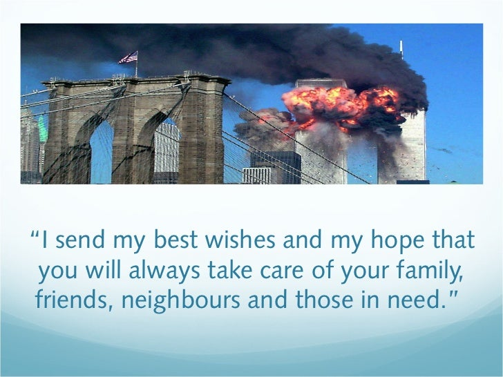 """""""I send my best wishes and my hope that you will always take care of your family, friends, neighbours and those in need."""""""