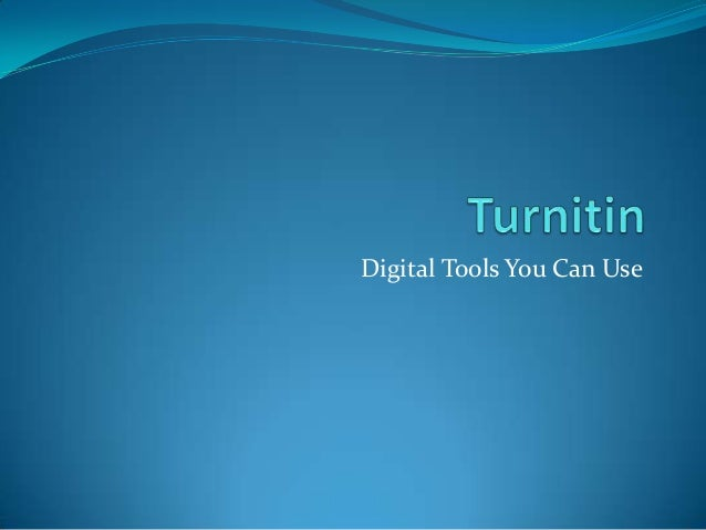 Digital Tools You Can Use