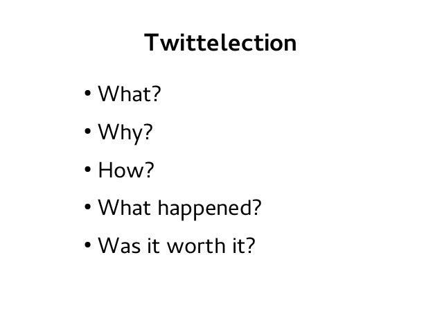 TwittElection Slide 2