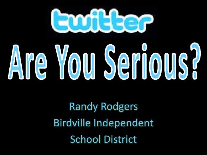 Randy Rodgers Birdville Independent     School District