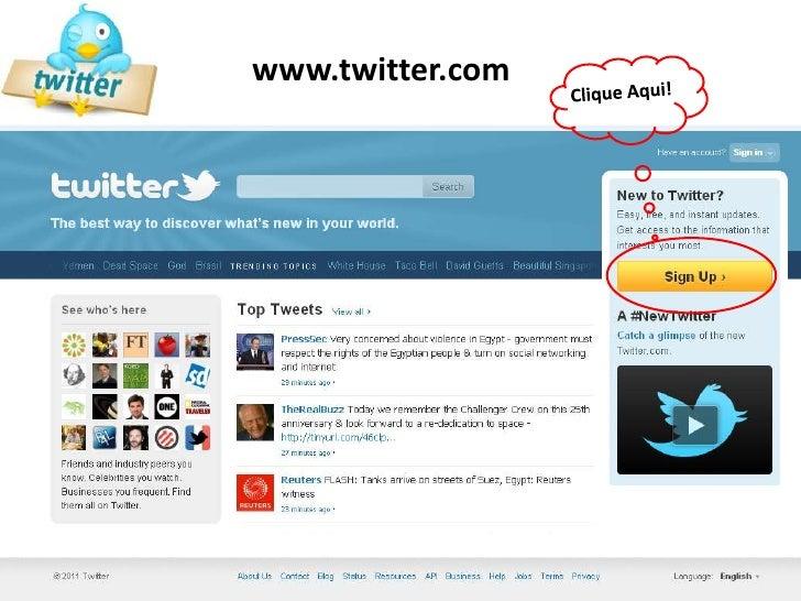 www.twitter.com<br />Clique Aqui!<br />