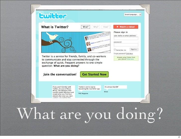 Twitter Presentation Slide 2
