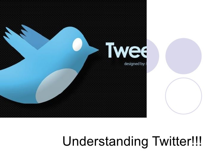 Understanding Twitter!!!