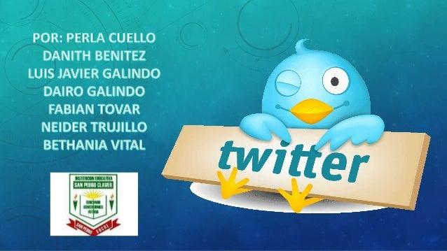 Twitter (NYSE: TWTR) es un servicio de microblogging, con sede en San Francisco, California, con filiales en San Antonio (...