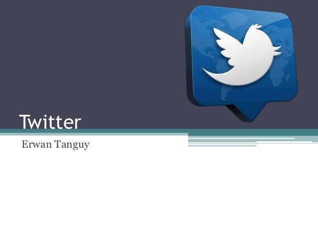 Twitter  Erwan Tanguy