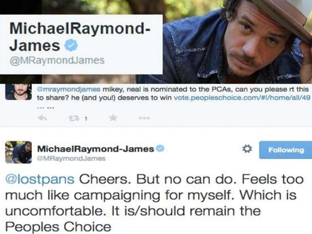 """M.  1. MichaelRaymond- James            . """"i'ifay