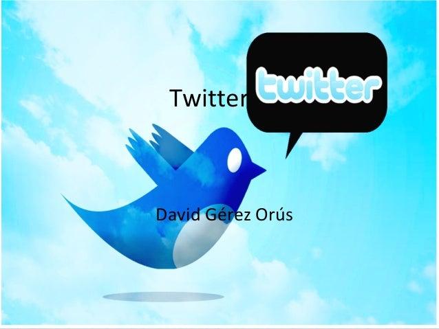 Twitter David Gérez Orús