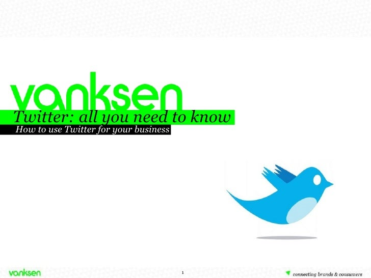 Twitter: all you need to know How to use Twitter for your business