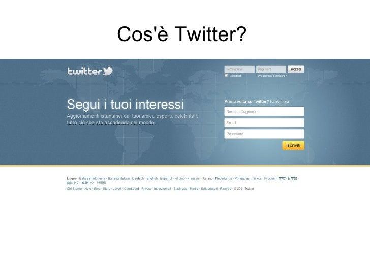 Fatti seguire sui social ottobre 2011