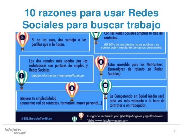 230956f10b 7 10 razones para usar Redes Sociales para buscar trabajo ...
