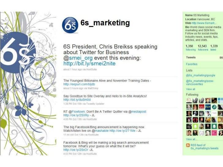 Twitter for Business Presentation Slide 3