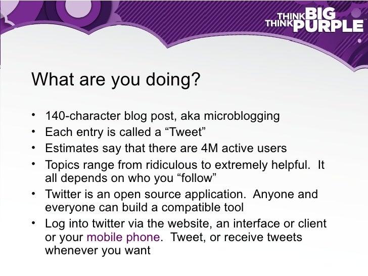 Twitter for Recruiters Slide 2