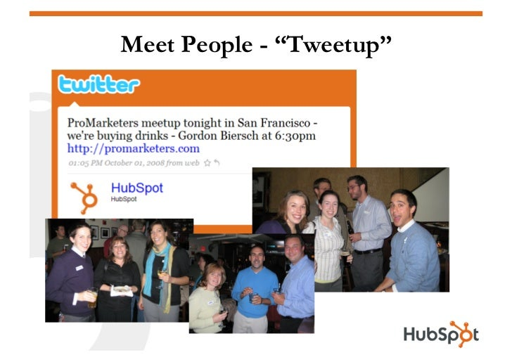"""Meet People - """"Tweetup"""""""