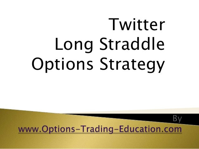 Twitter Long Straddle Options Strategy