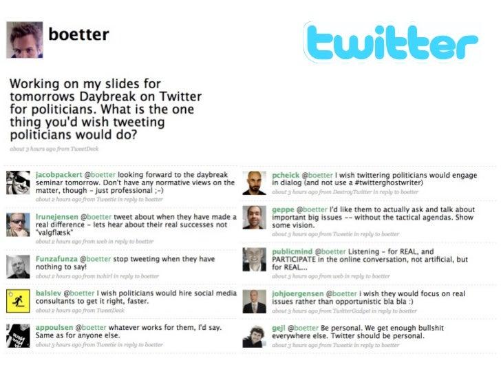 Unfollow: At stoppe med at følge    en Twitter bruger