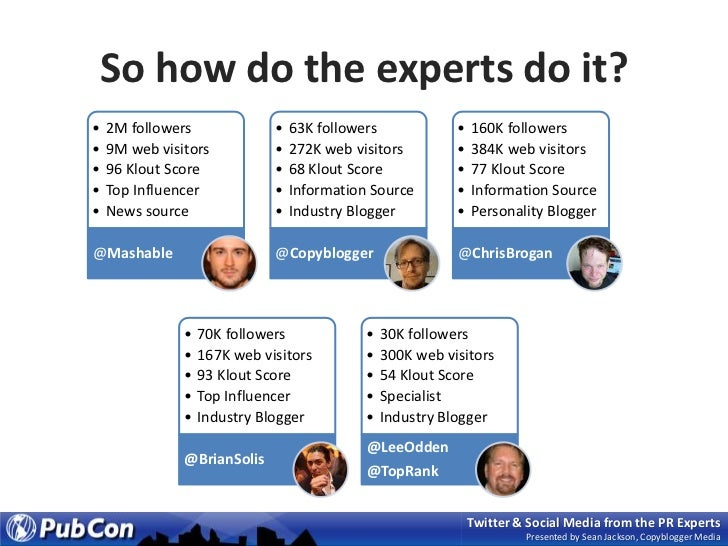 So how do the experts do it?<br />