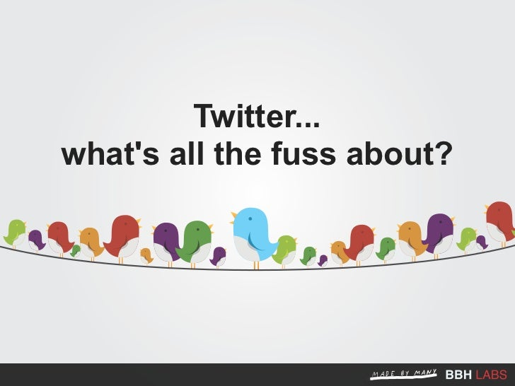 Twitter... what's all the fuss about?