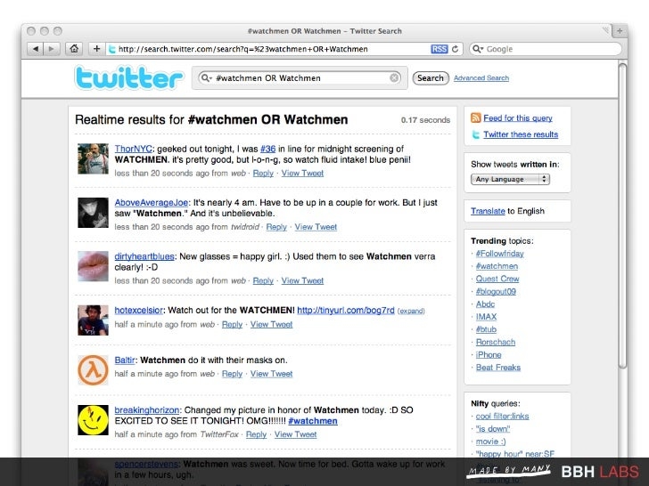 #twestival                                                                  There was a #Twestival                        ...