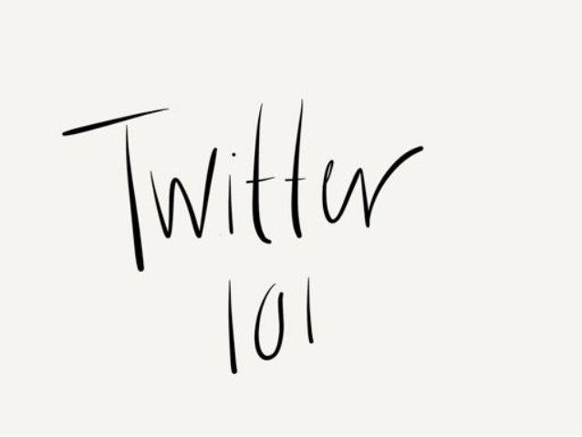 Twitter workshop-smd-2013