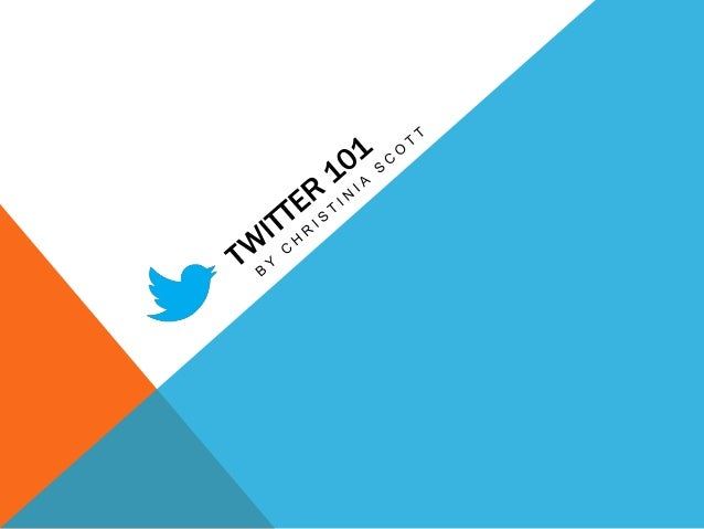 OBJECTIVES                    Gain an understanding of Twitter              Gain an understanding of Twitter's popularity ...