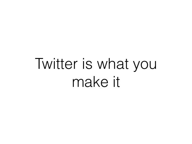 Twitter is Great (And So Can You)!
