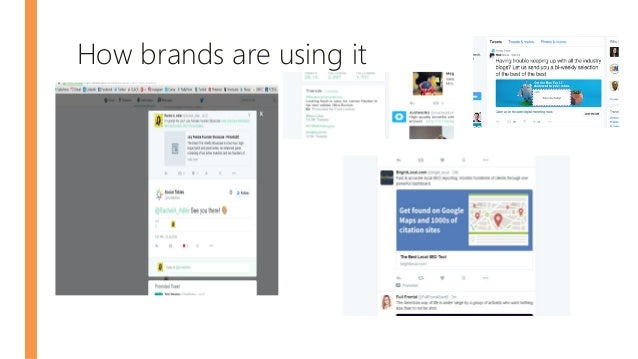 How brands are using it