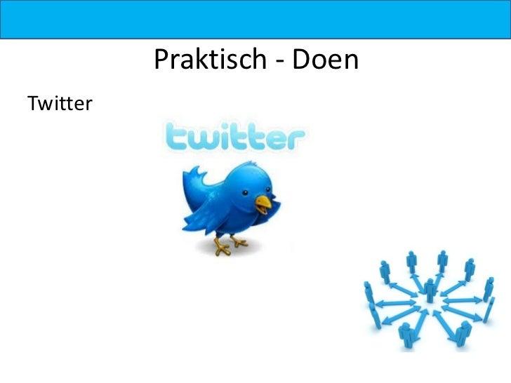 Praktisch - DoenTwitter