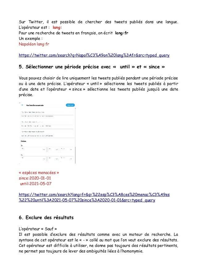 Twitter advanced search_tuto Slide 2