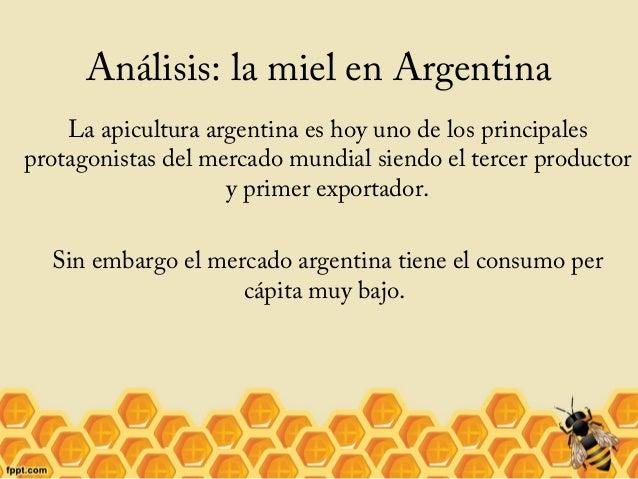 Análisis: la miel en Argentina La apicultura argentina es hoy uno de los principales protagonistas del mercado mundial sie...