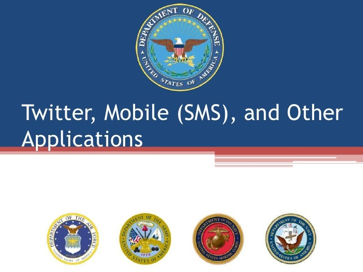 Twitter, Mobile (SMS), and Other Applications<br />