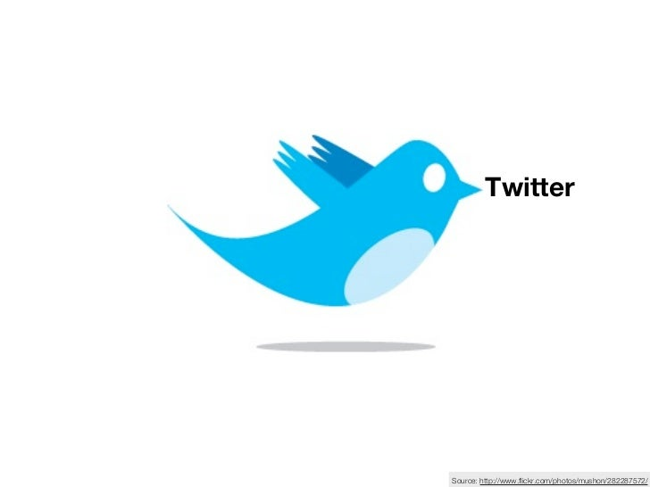 TwitterSource: http://www.flickr.com/photos/mushon/282287572/