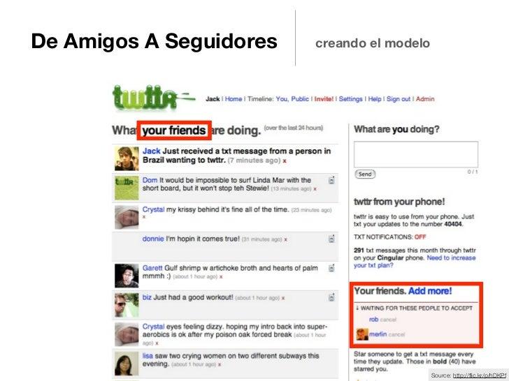 De Amigos A Seguidores   creando el modelo                                             Source: http://flic.kr/p/hDKPf