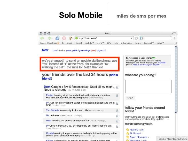 Solo Mobile   miles de sms por mes                              Source: http://flic.kr/p/hQKTD