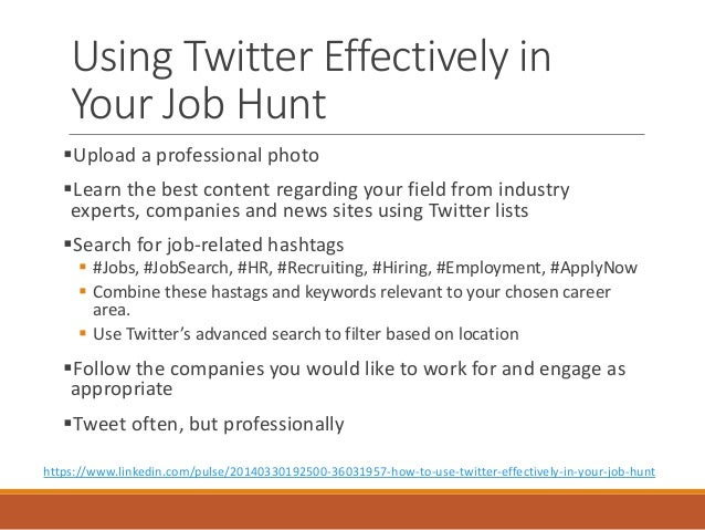 Twitter Is The Best Job Search Tool You're Not Using ...