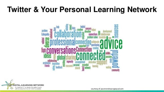 Twitter & Your Personal Learning Network  courtesy of jasonrenshaw.typepad.com