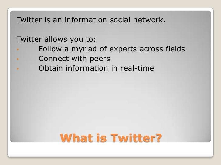 Twitter as a professional development tool Slide 2