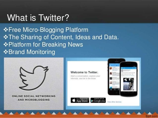 Twitter Basic Tips and Tricks Slide 2