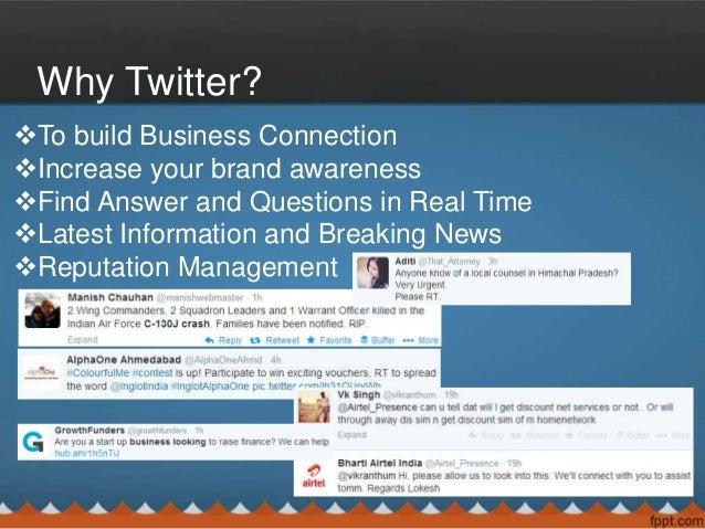 Twitter Basic Tips and Tricks Slide 3