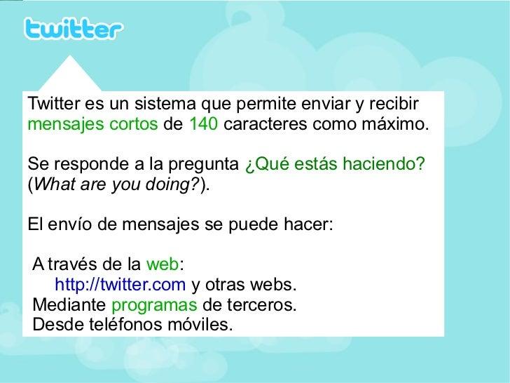 Tutorial básico de twitter Slide 2