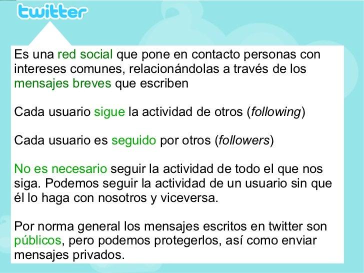 Tutorial básico de twitter Slide 3