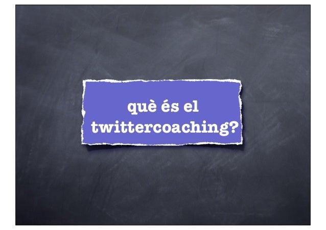 Twitter coaching Slide 2