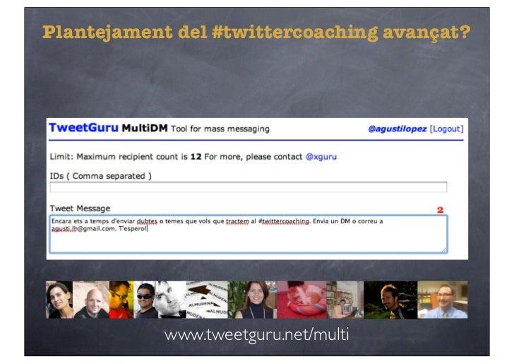 Twittercoaching reloaded Slide 2