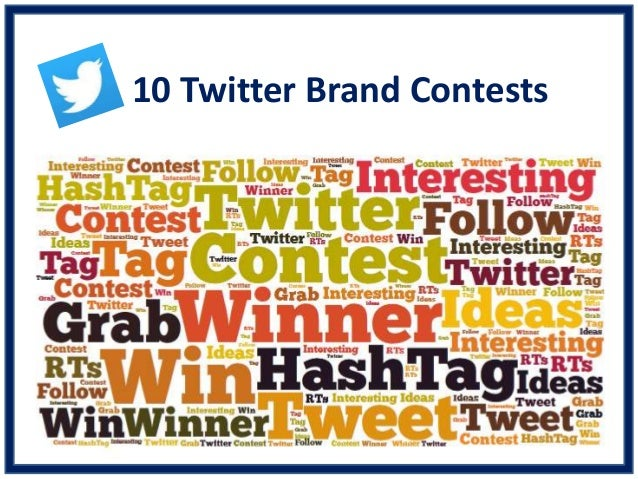 10 Twitter Brand Contests