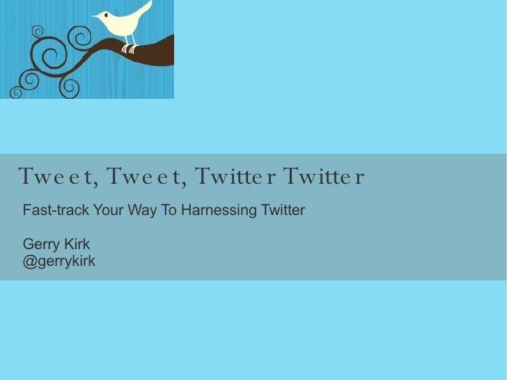 how to get started on twitter tutorial
