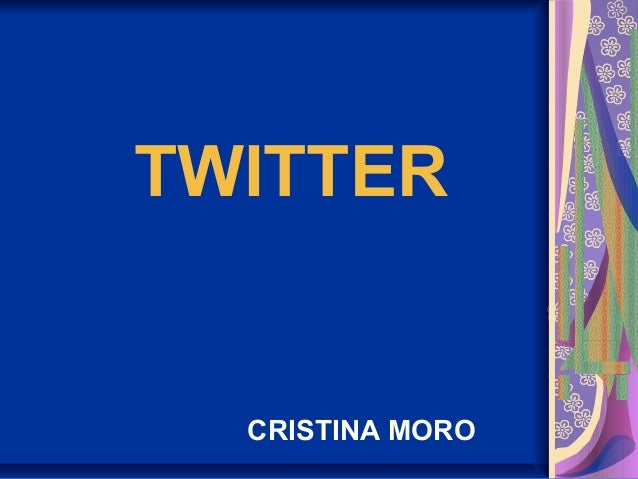 TWITTERCRISTINA MORO